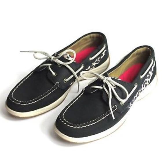 3b30a3302 Sperry Shoes | Top Slider Intrepid Animal Print Boat Shoe | Poshmark
